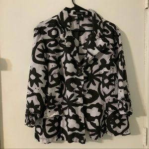 BLAZER/ JACKET SIZE L ASHLEY STEWART